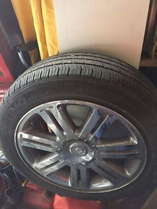 Mags et pneu sebring
