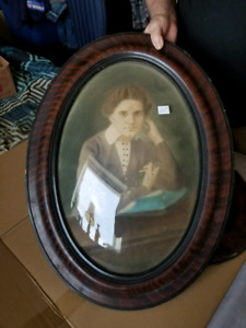 Antique Oval Frame