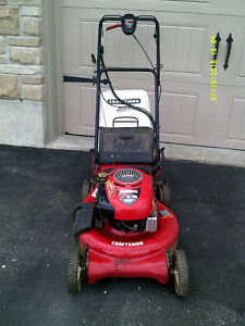 Electric start, self propelled lawnmower