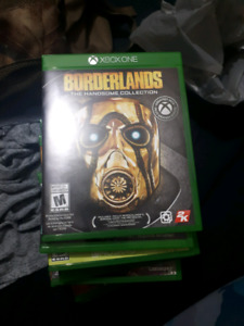 Selling perfect condition Xbox One games