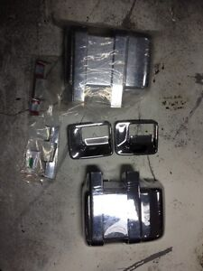 Chrome mirror covers 2008-10 Ford Superduty