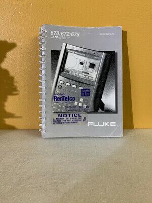 Fluke 943220 670672675 Lanmeter Users Manual