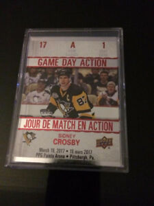 Tim Hortons 2017/18 Hockey Cards-Game Day