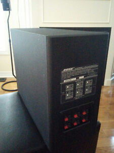 BOSE AM-7 ACOUSTIMASS Speakers and BOSE FS-6 FLOORSTANDS   PLEAS Kitchener / Waterloo Kitchener Area image 5