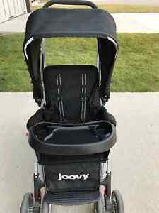 Joovy caboose ultralight double sit stand stroller