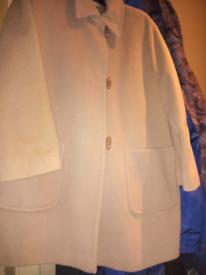 Ladies M & S Wool Jacket in Camel.