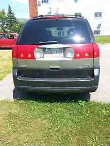 2002 Buick rendezvous luxury edition