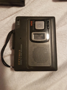 Optimus - Cassette recorder/player