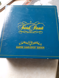 Ideal for Christmas trivial pursuit master genus edition.