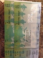 Dave matthew's tickets (2)