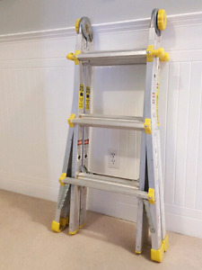 13' Multi Use Articulating Extension Ladder