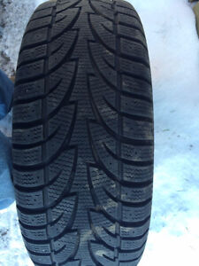 215/55R16 winter tires and rims