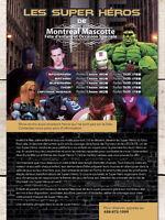 Les Super Héros, Hulk,Spiderman,SuperMan,IronMan ( Fête D'enfant