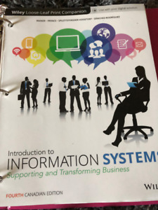 Introduction to Information Systems - 4th Edition