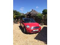 Red Mini Cooper D hatch - 57 plate - 1.6 - 3DR