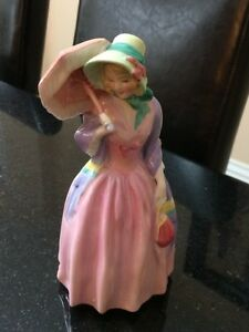 Mint royal doulton miss demure hn1402 figurine Made In England