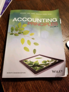 Accounting Principles Volume 2 Seventh Edition