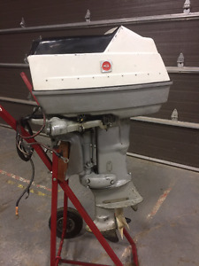 Gale 25 HP Electric Start Outboard - Hors Bord 25 Forces
