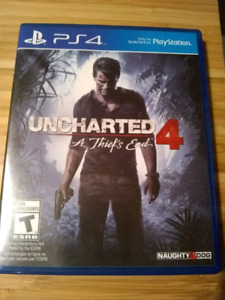 PS4 Uncharted 4, $20