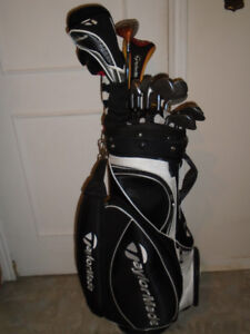 Sporting goods Full set of Taylormade Burner Golf Clubs R/H. - $