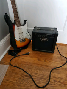 Electric guitar and amp!!!Sold!!