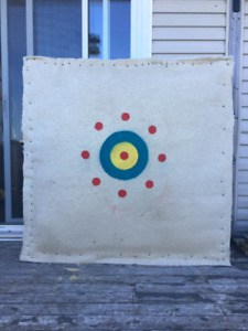 Large Double-sided Outdoor Target