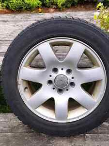 OEM BMW rims and winter tires Kitchener / Waterloo Kitchener Area image 1