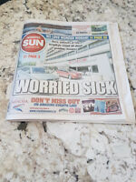 WINNIPEG SUN DAILY NEWSPAPER DELIVERY FOR  ST JAMES  TYNDAL PARK