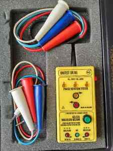 Electricians - Phase Rotation Meter - BEHA Unitest DR701 - $100 Kitchener / Waterloo Kitchener Area image 1