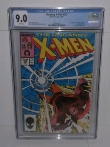 THE UNCANNY X-MEN 221 and Thor 337 graded comic lot