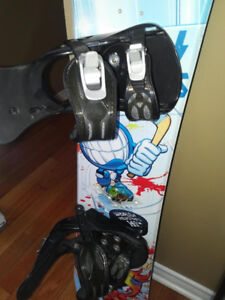 World Industries snow board, boots and bindings $150.00