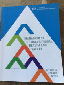 Selling Textbook: Management of Occupational Health and Safety