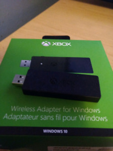 Rarely used Xbox One Wireless Adapter for Windows