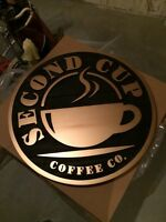 Second Cup sign