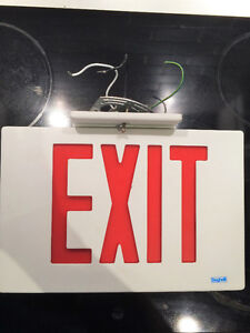 Metal Exit Sign - Commercial Grade