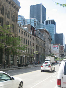 Private office space available in Old Montreal