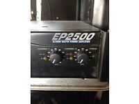 BERHINGER EUROPOWER EP2500 POWER AMP