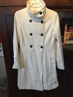 Old Navy military style long jacket- like new