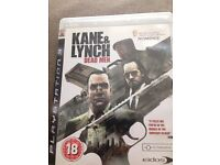 PS3 Kane and lynch dead men