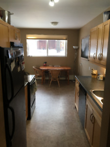 Roommate needed condo Whyte Ave./U of A $600/month