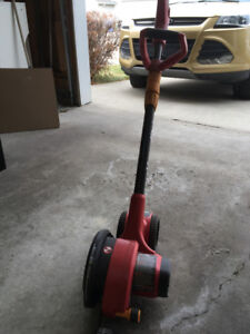 Driveway and sidewalk edger. Used once. Moving to condo. Must go