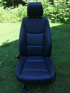 BMW E90 standard manual black seats
