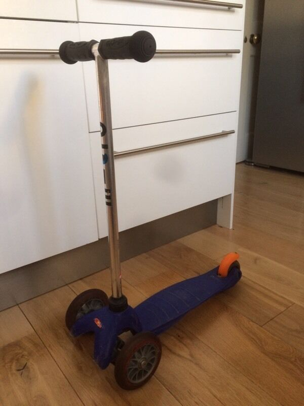 Mini Micro Scooter with seat and O bar, 3 in 1