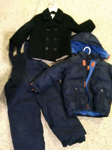 Boys GAP Winter coat, snowpants, Pea Coat - Size 3