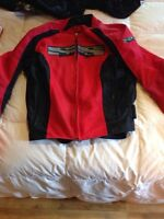 Speed & Sound motorcycle jacket size L