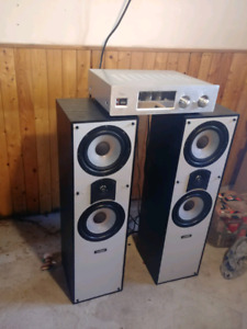 Camber Lazer 9 tower speakers