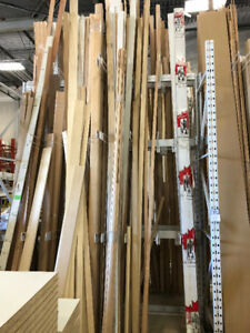 SUPER CLEARANCE SALE ON SELECT DOORS/HARDWARE/MOULDINGS/+MORE