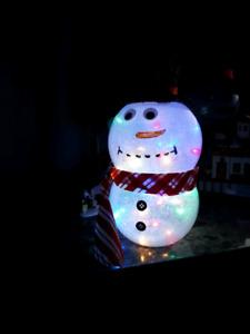 Cute light up snowmen