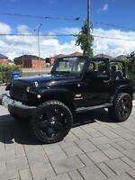 Jeep Wrangler Sahara automatique automatic jk PRIX REDUIT