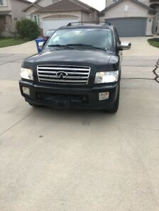 2006 Infiniti QX56 SUV (4X4) – SAFTIED & Low Kms ($$Offer me)